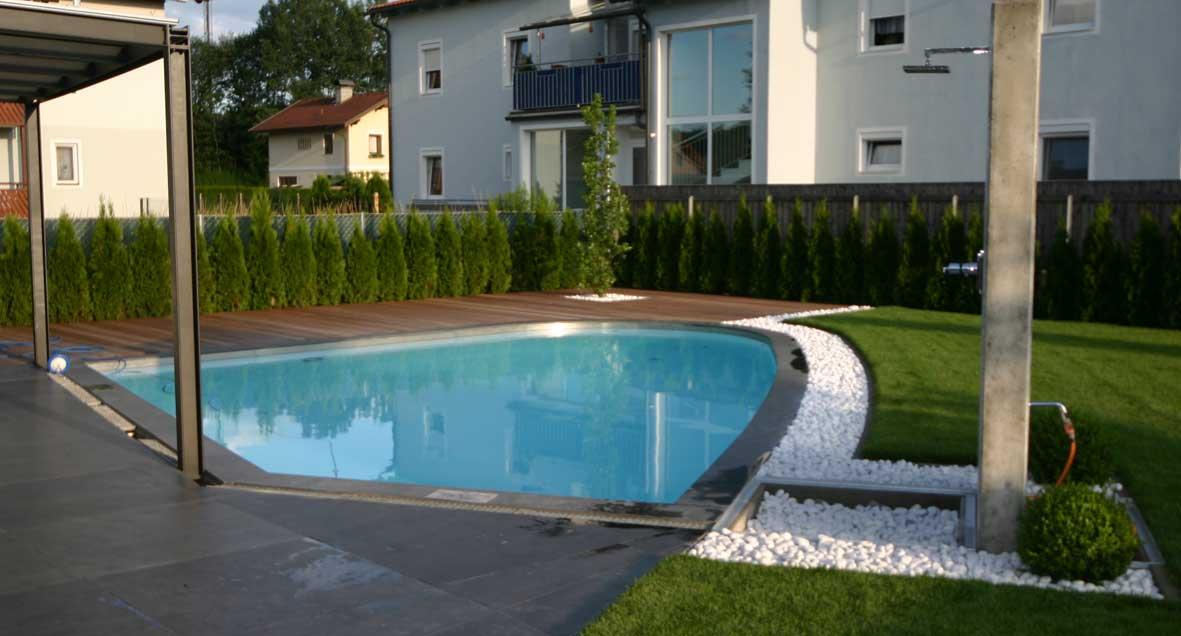 Poolgestaltung. poolgestaltung mit pflanzen schwimmbad maxxpools gmbh nowaday garden. garten und ...